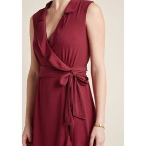 New ModCloth Wrap Dress